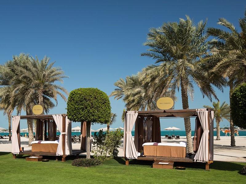 Spa Cabana de l'Emirates Palace à Abu Dhabi