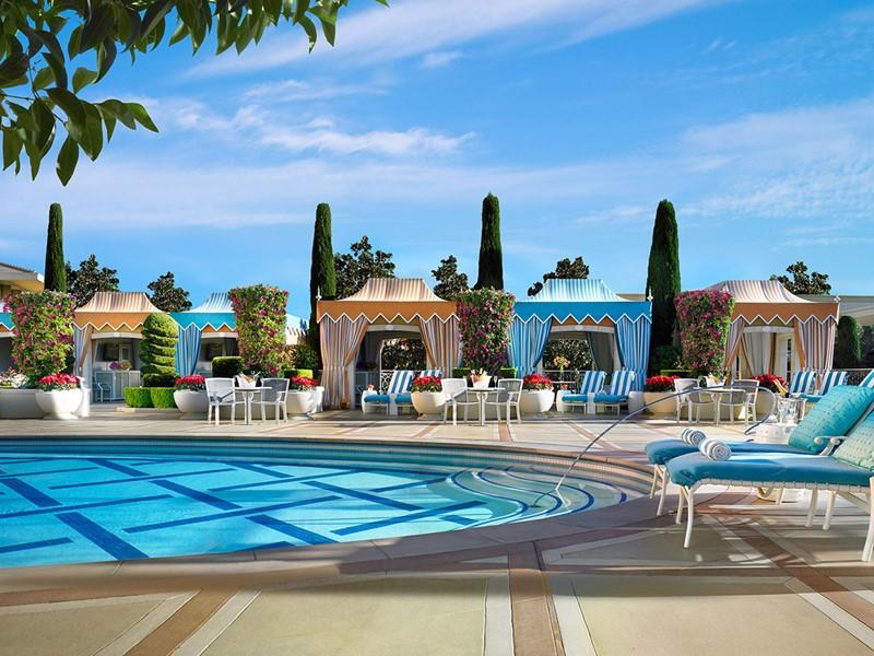 La piscine de l'hôtel Encore at Wynn Las Vegas
