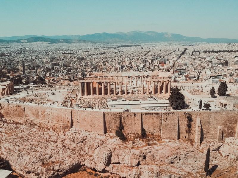 La capitale grecque