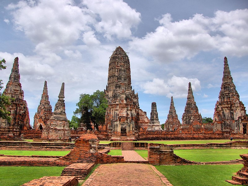 Explorez le majestueux Wat Chaiwattanaram d'Ayutthaya