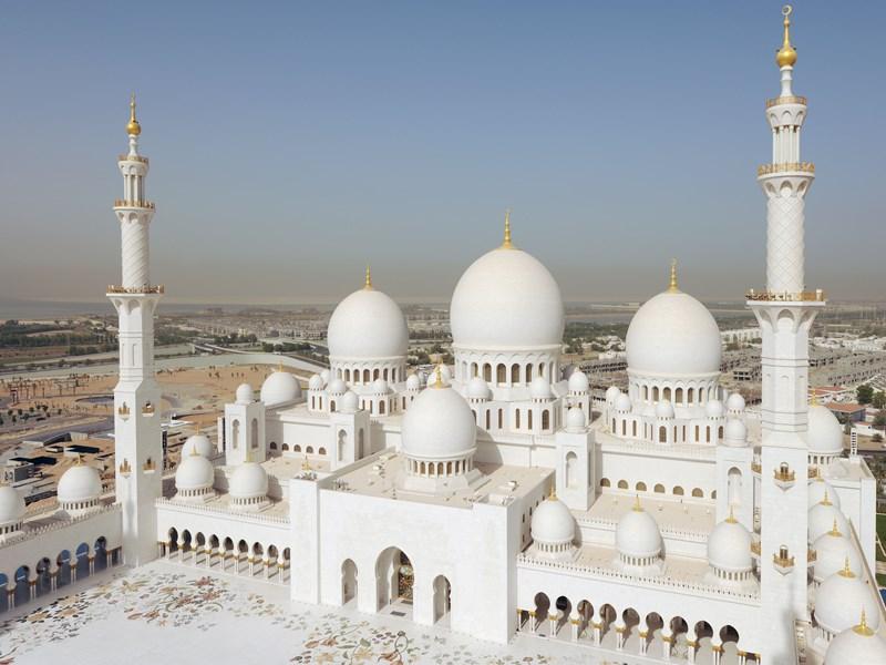 La mosquée Sheikh Zayed, l'une des plus belles du monde
