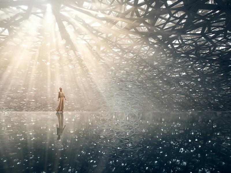 Le Louvre Abu Dhabi et son architecture futuriste