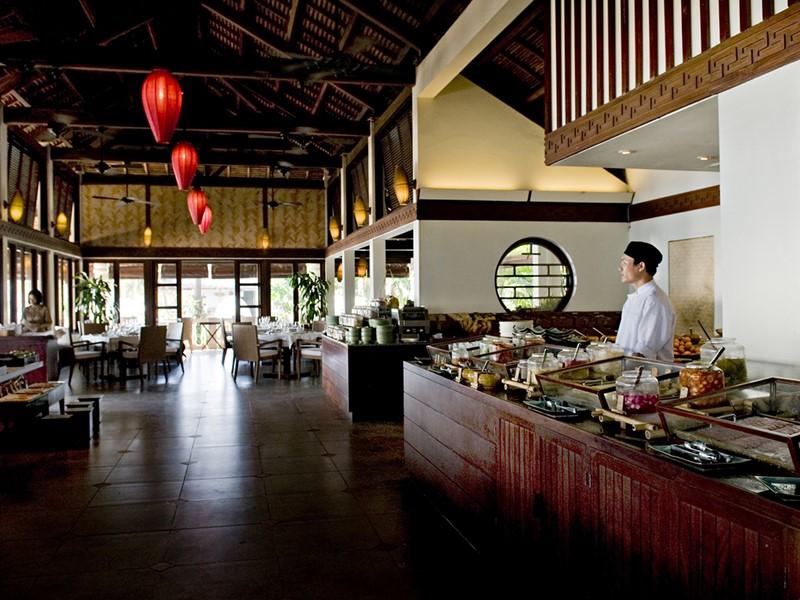 Le restaurant Pavilion de l'Evason Ana Mandara