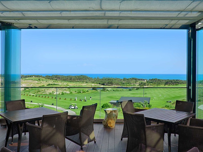 Le restaurant The Legend du golf Royal Obidos