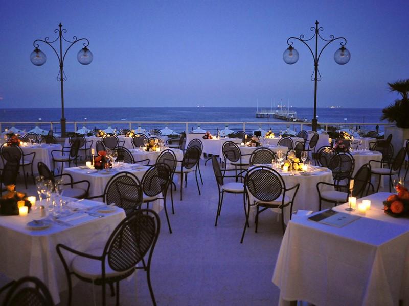 Délicieuse cuisine italienne au restaurant Tropicana