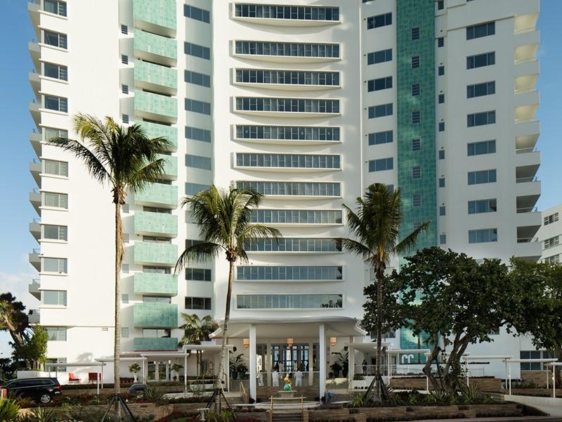 Vue extérieure du Faena, une adresse chic et moderne à Miami