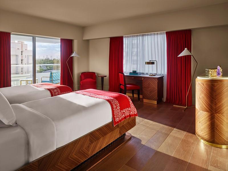Bay View Twin Room du Faena Hotel Miami Beach