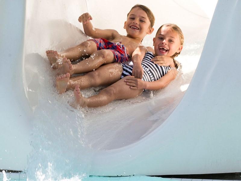Les enfants profiteront de nombreuses activités au Fontainebleau.