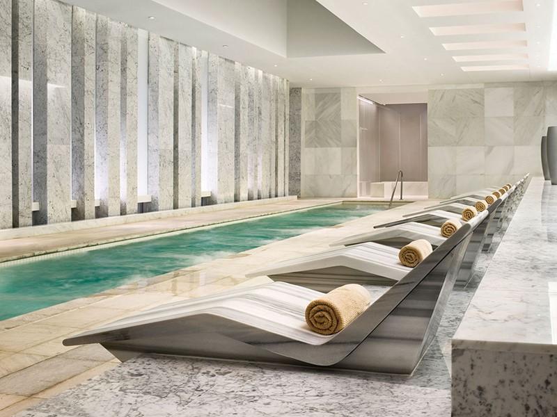 Hydrothérapie à l'hôtel Fontainebleau à Miami