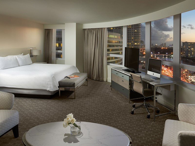 Bay View Junior Suite du Fontainebleau Miami Beach