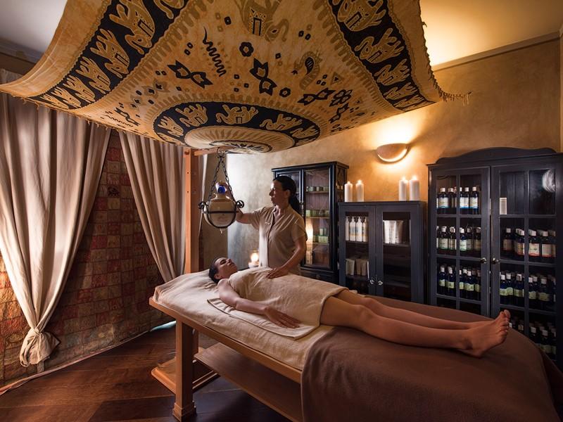 Profitez d'un moment de détente au spa du Fonteverde