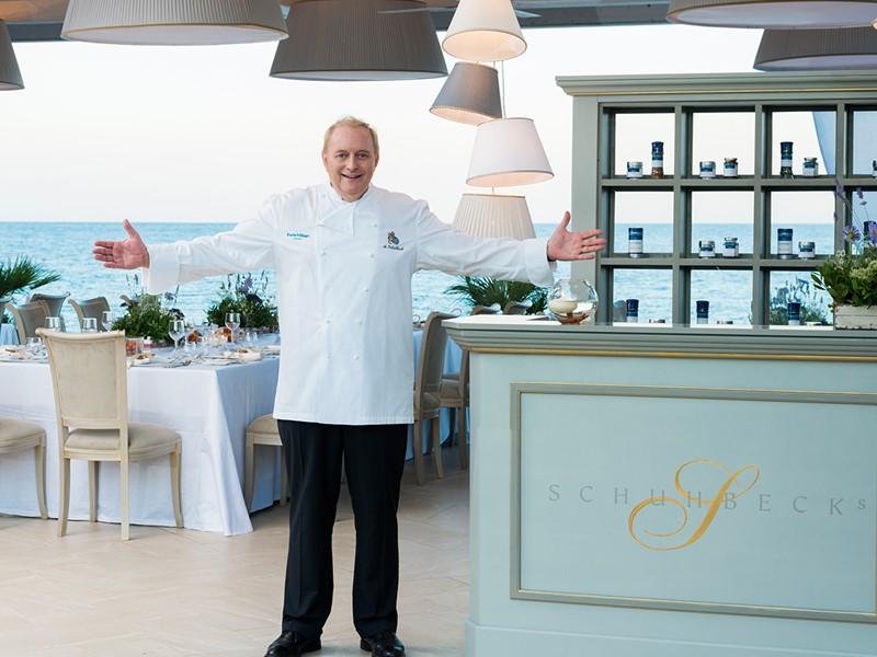 Le restaurant du chef étoilé Alfons Schuhbeck