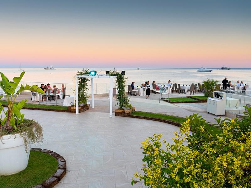 La Terrazza, le restaurant au bord de l'eau