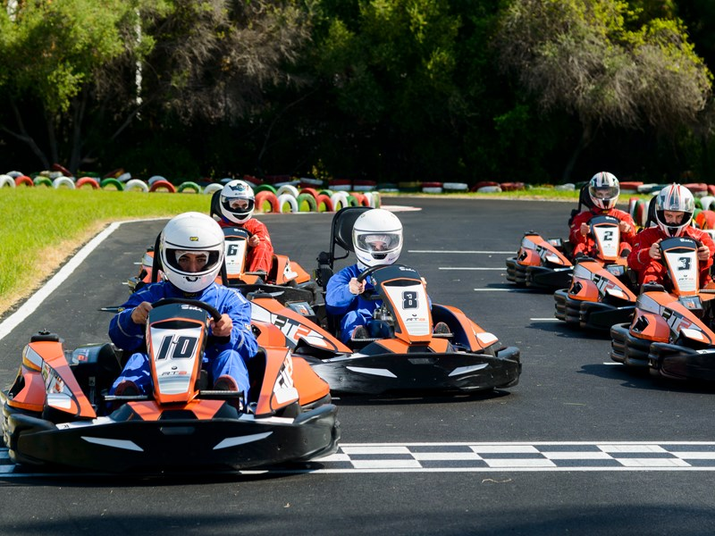 Le Karting au Leisureland