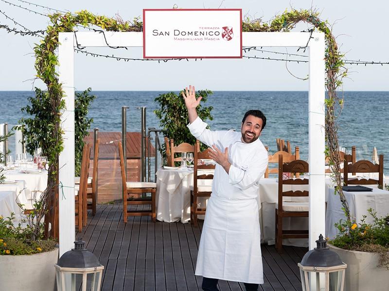Le restaurant La Terrazza San Domenico