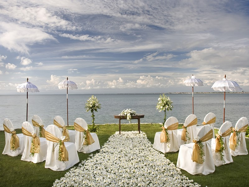Mariage à l'hôtel de luxe Four Seasons Jimbaran