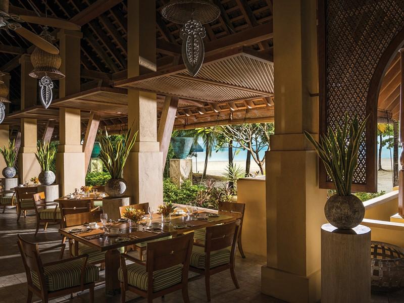 Autre vue du restaurant de l'hôtel Four Seasons Langkrawi