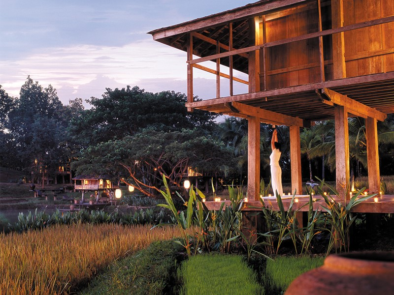 Méditation en pleine nature au Four Seasons Resort Chiang Mai