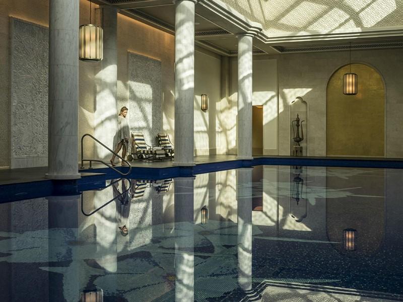Détente et bien-être au spa du Four Seasons à Dubaï