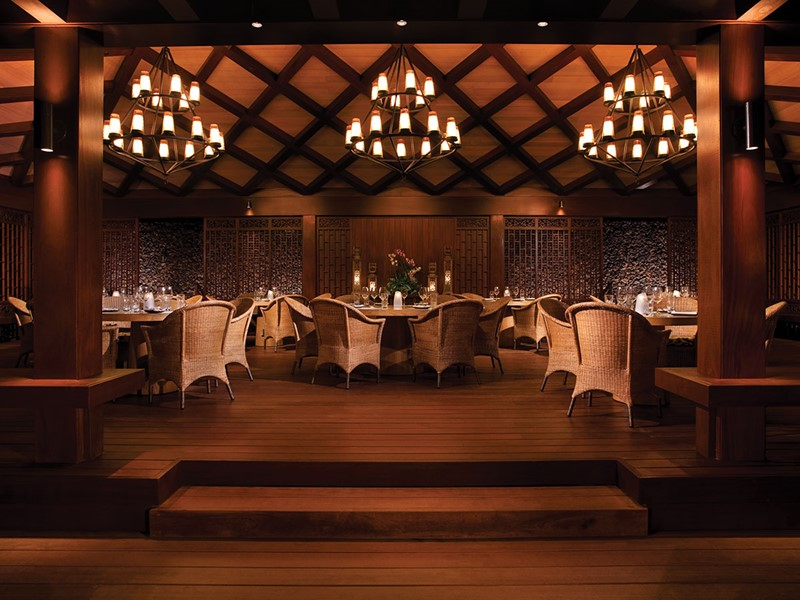 Le restaurant Beach Tree du Four Seasons Hualalai