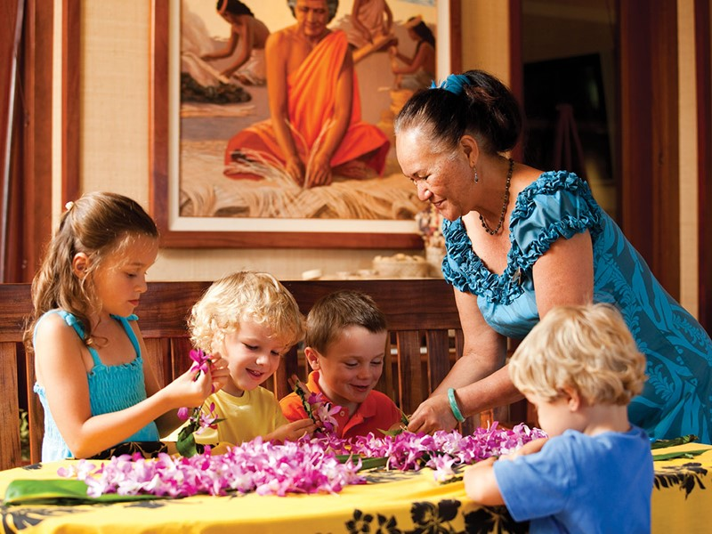Le coin enfants du Four Seasons Hualalai à Hawaii