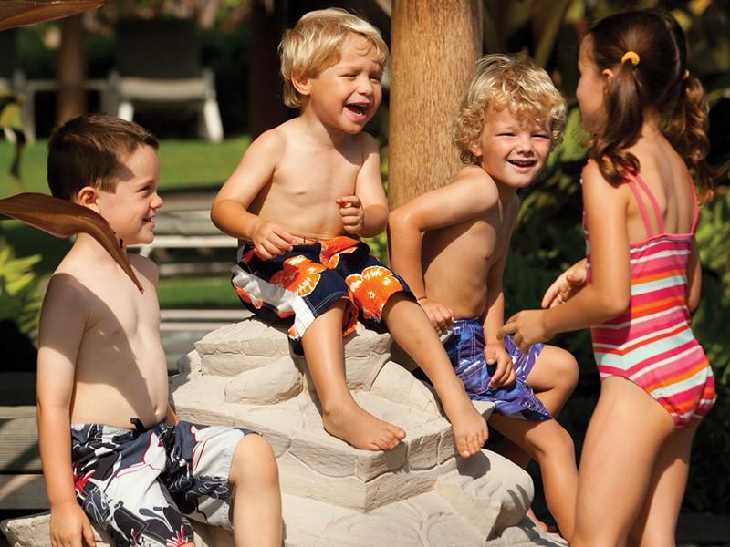 Les petits s'amuseront tout en s'épanouissant au Four Seasons.