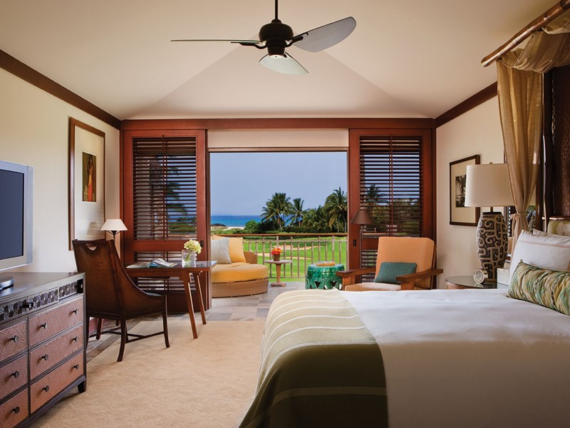 Superior Suite du Four Seasons Hualalai à Hawaii