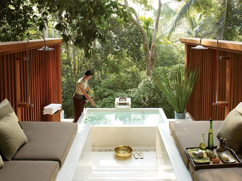 Instant de bien-être au spa de l'hôtel Four Seasons