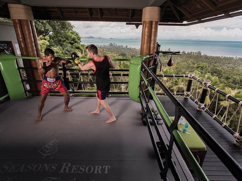 Découvrez le Muay Thai au Four Seasons Koh Samui