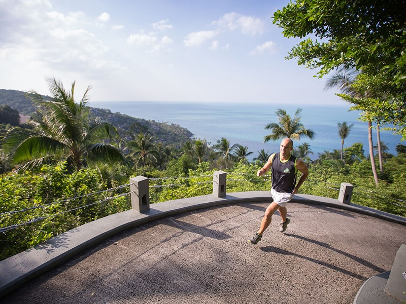 Remise en forme au Four Seasons Resort en Thailande