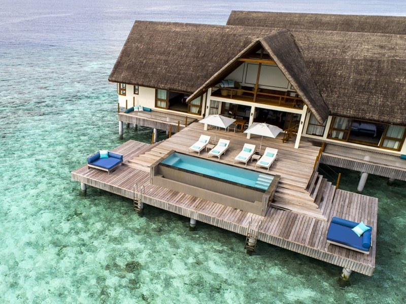 Two-Bedroom Water Suite du  Four Seasons Landaa Giraavaru