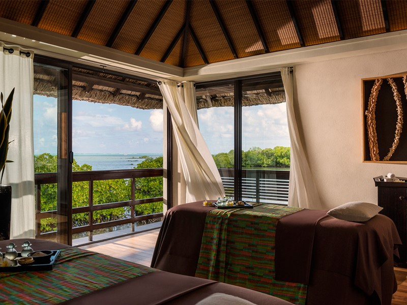 Spa de l'hôtel 5 étoiles Four Seasons Resort Mauritius