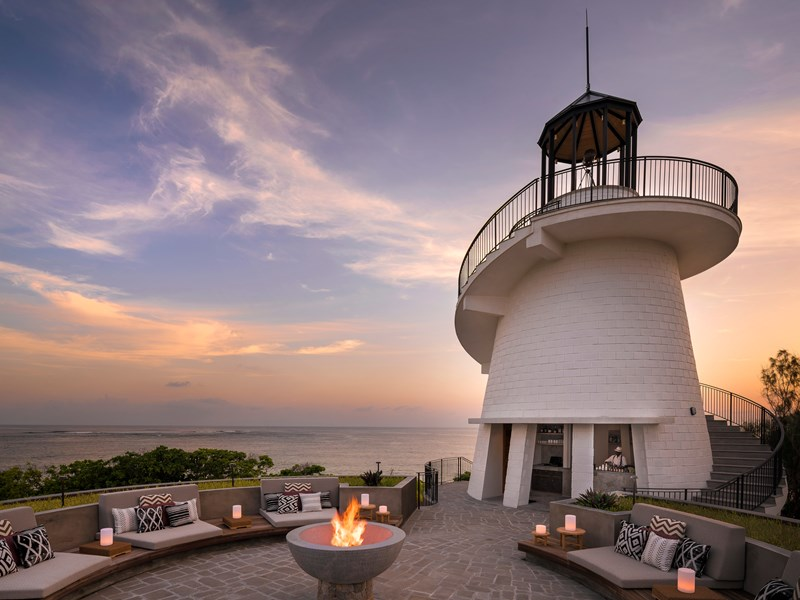 Le restaurant The Lighthouse