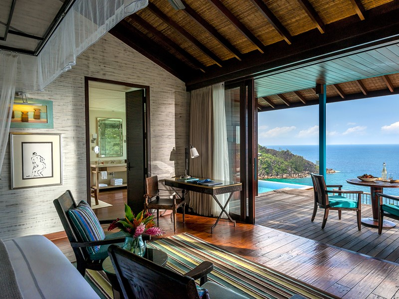 Hilltop Ocean View Villa du Four Seasons Resort Seychelles