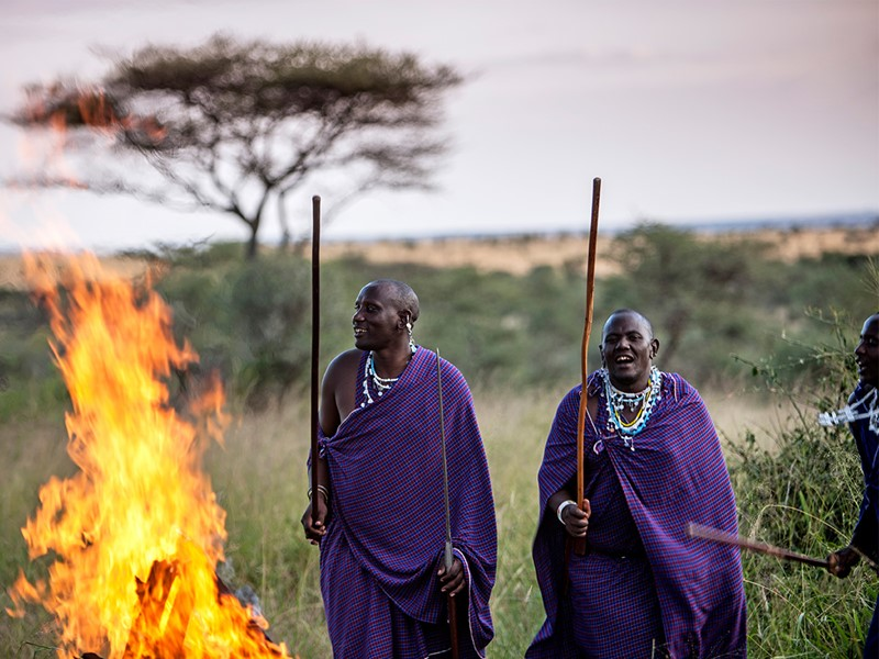 Spectacle Massai