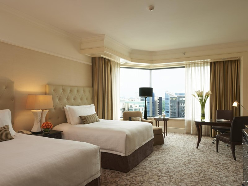 Premier Room de l'hôtel Four Seasons Singapore