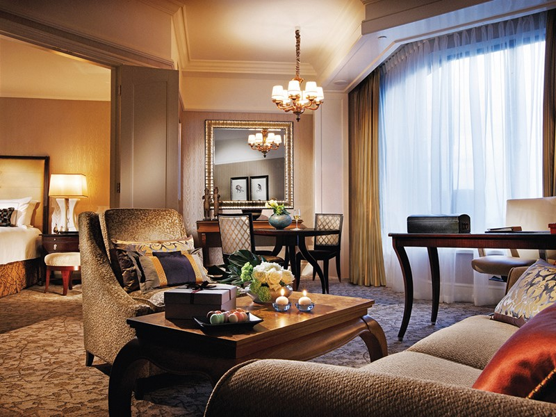 Executive Suite de l'hôtel Four Seasons Singapore
