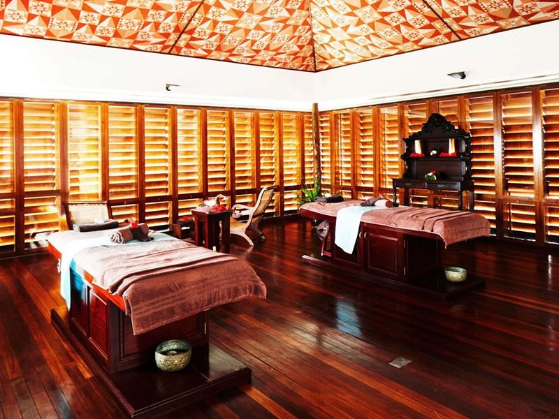Le spa de l'hôtel 5 étoiles Fregate Island