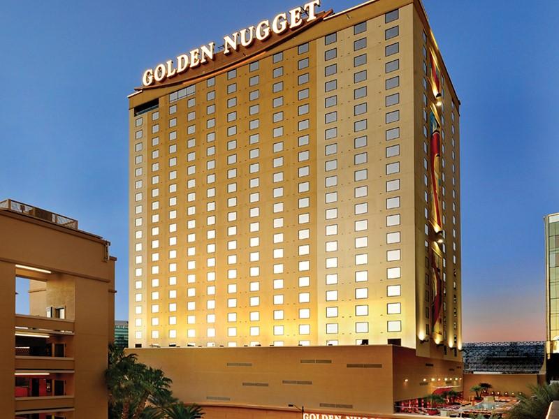 Vue extérieure du Golden Nugget Hotel & Casino