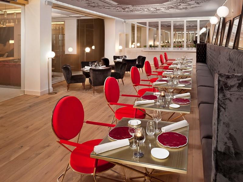 Le restaurant Montmartre du Gran Meliá Palacio de los Duques