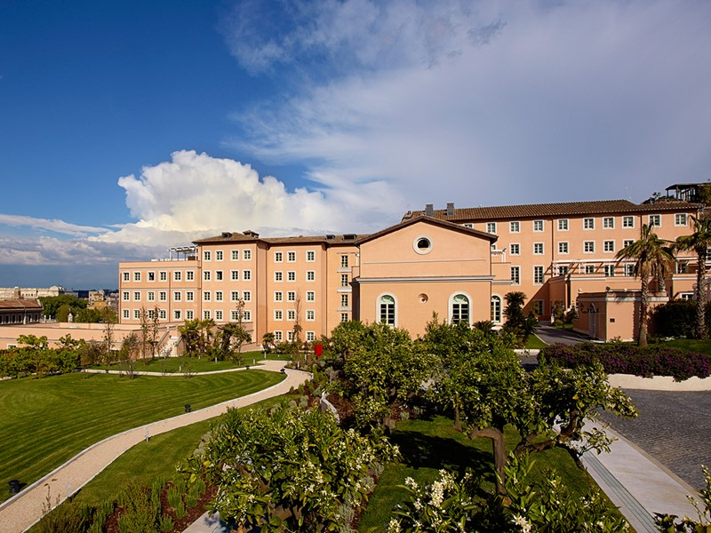 Vue du Gran Melia Villa Agrippina à Rome