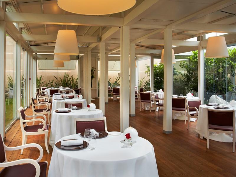 Le restaurant Viva Voce du Gran Melia Villa Agrippina