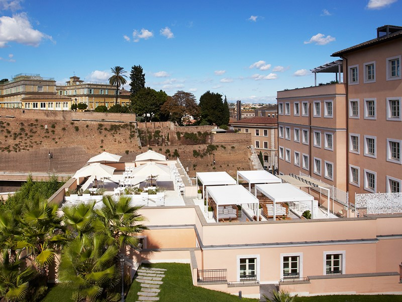 Le restaurant Lunae Terrace du Gran Melia Villa Agrippina