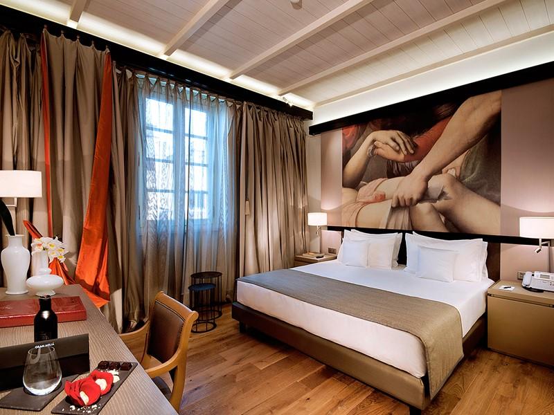 Deluxe Room du Gran Melia Villa Agrippina en Italie