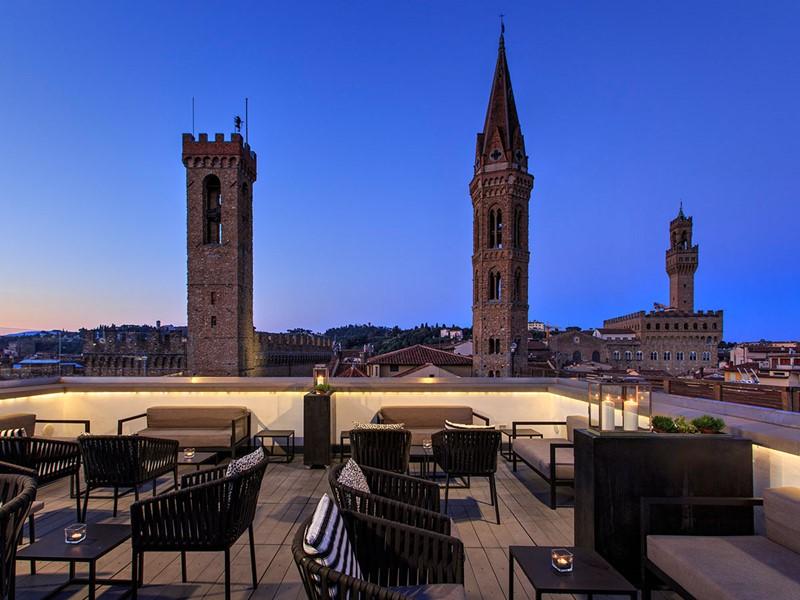 Profitez d'une vue sublime depuis la Divina Terrazza