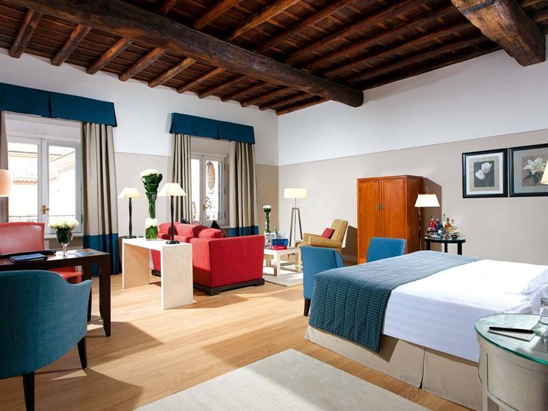 Grand Deluxe Room du Grand Hotel de la Minerve