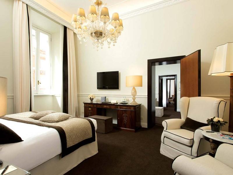 Suite Alfieri du Grand Hotel de la Minerve, à Rome