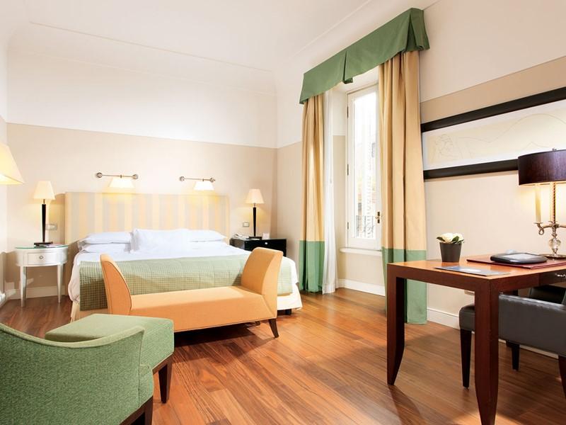 Superior Room du Grand Hotel de la Minerve, à Rome