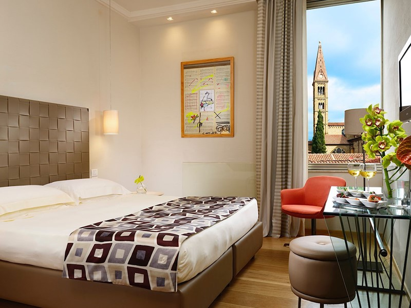 Premium Room du Grand Hotel Minerva à Florence