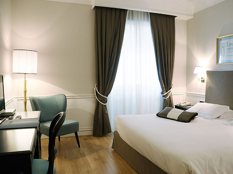 La Classic Executive Room du Grand Hotel Santa Lucia en Italie